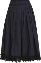 Derek Lam 10 Crosby Embroidered Skirt