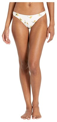 O'Neill Mai Floral Twist Tab Pant Bottoms (Vanilla) Women's Swimwear