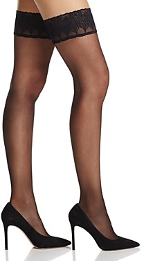 Falke Lunelle 8 Solid Stay-Up Thigh-Highs