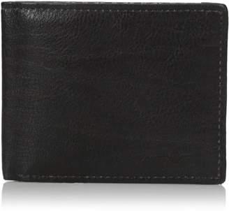 Buxton Men's Tulsa RFID Blocking Slimfold Slim Wallet