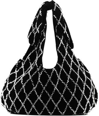 Shrimps Ellery embellished tote bag