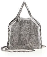 Stella McCartney Falabella Tiny Baby Bella Embellished Faux Leather Tote