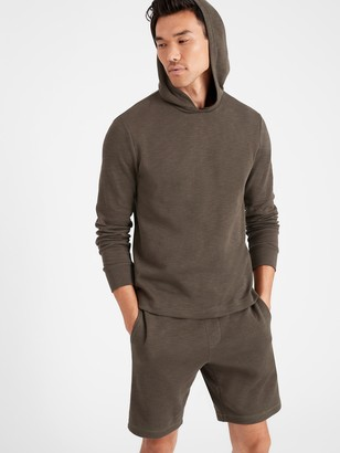 Banana Republic Double-Knit Hoodie Sweatshirt