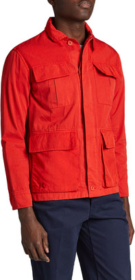 Kenzo Men's 4-Pocket Workwear Jacket