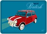"Best The Softer Side by Weather GuardTM of British"" Mini Kitchen Mat"