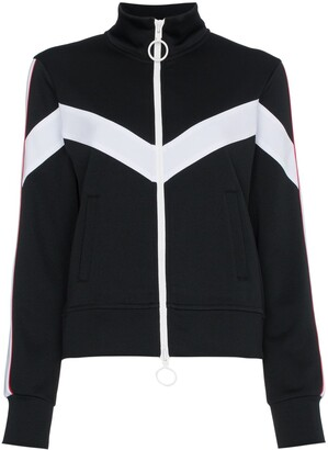 Off-White Zip-Up Track Jacket