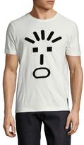 Fendi Cotton Velvet Face T-Shirt