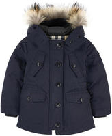 Burberry Parka with down and feather padding