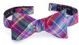 Ted Baker Men's Paddy Plaid Silk Bow Tie