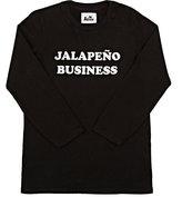 "Kira ""Jalapeño Business""-Graphic T-Shirt-BLACK"