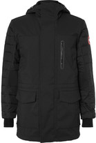 Canada Goose - Selwyn Quilted Shell And Canvas Hooded Down Coat