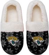 Unbranded Women's Jacksonville Jaguars Ugly Knit Moccasin Slippers