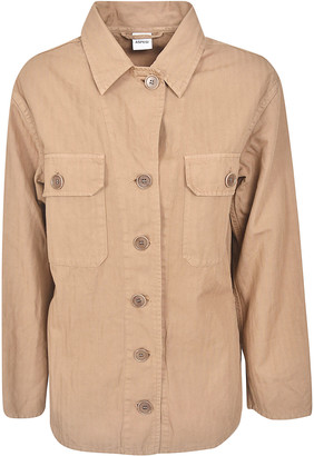Aspesi Front Cargo Pocket Buttoned Jacket