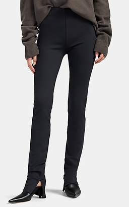 The Row Women's Corza Neoprene Jersey Leggings - Gray