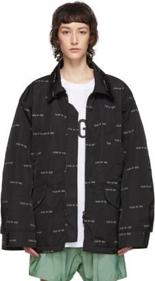 Fear Of God Black Logo Field Jacket