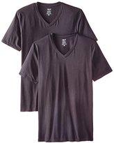 Naked Men's 2-Pack Essentials V-Neck T-Shirt