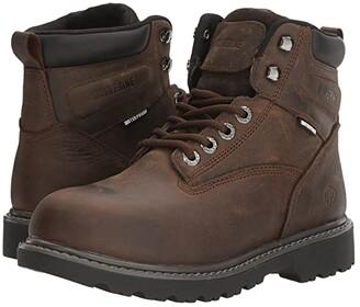 Wolverine Floorhand Waterproof (Dark Brown) Women's Boots