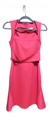 Versace Pink Polyester Dresses