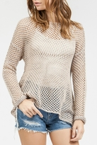 Blu Pepper Crochet Sweater Top