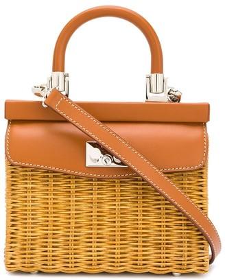 Rodo Wicker Tote Bag
