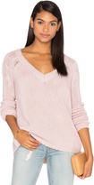 360 Sweater Brogan Cashmere Scoop Neck Sweater