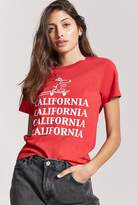 Forever 21 Snoopy California Graphic Tee