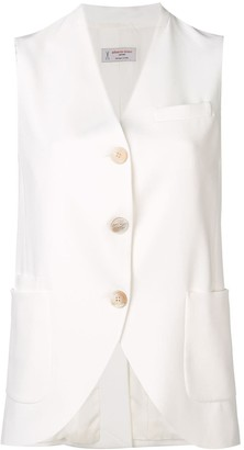 Alberto Biani button waistcoat