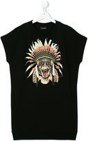 Marcelo Burlon County Of Milan Kids - snake headdress print tank top - kids - Cotton/Polyester - 14 yrs