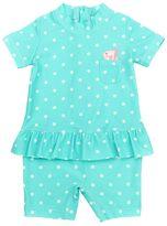 Carter's Baby Girl Polka-Dot Peplum Rashguard