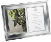 Vera Wang X Wedgwood Grosgrain Double Picture Frame