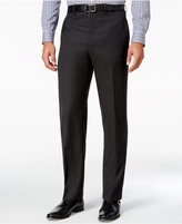 Lauren Ralph Lauren Men's Classic-Fit Charcoal Herringbone Wool Dress Pants