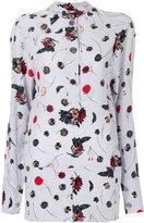 Marni dandelion print blouse - women - Silk - 40