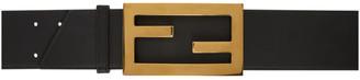 Fendi Black Large Forever Belt