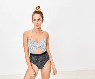 Oasis SPOT CUT OUT SWIMSUIT