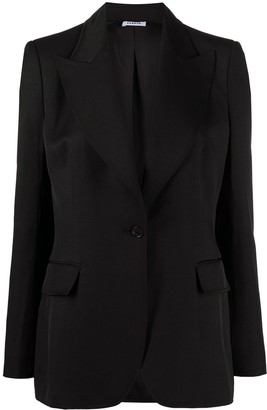 P.A.R.O.S.H. Single-Breasted Tailored Blazer