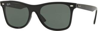 Ray-Ban Blaze Wayfarer Lens-Over-Frame Square Sunglasses