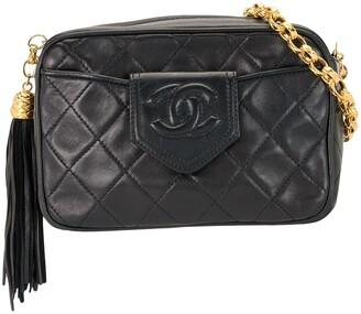 Chanel Pre Owned 1990 Quilted Fringe Shoulder Bag