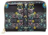 Ted Baker Katija Printed Leather Zip Around Mini Purse