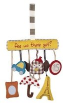 Mamas and Papas Activity Travel Charm Toy - Are We There Yet