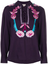 Temperley London Peacock shirt