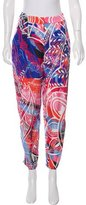 Emilio Pucci Sheer Silk Pants