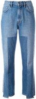 MiH Jeans asymmetric cropped jeans - women - Cotton - 27