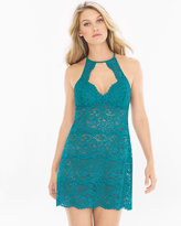 Soma Intimates Allover Lace Chemise Deep Lake