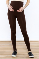 Luxe Junkie Brown Maternity Legging