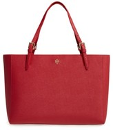 Tory Burch 'York' Buckle Tote - Red