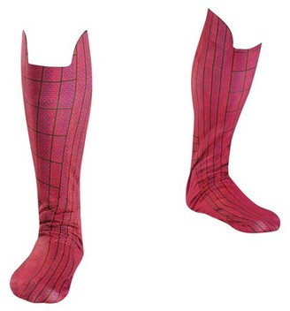 Disguise Spider-Man Boot Covers Adult Halloween Accessory