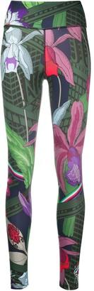 Nike Icon Clash floral-print leggings