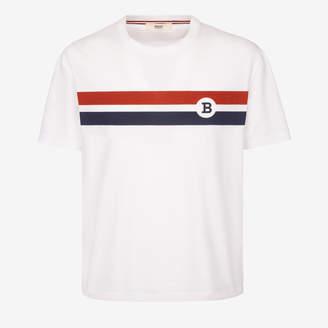 Bally Stripe Printed T-Shirt