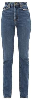 KHAITE Daria Slim-fit Jeans - Womens - Denim