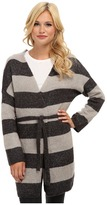 Brigitte Bailey Emily Striped Tie Cardigan